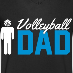 Volleyball Dad Camisetas - Camiseta de pico hombre