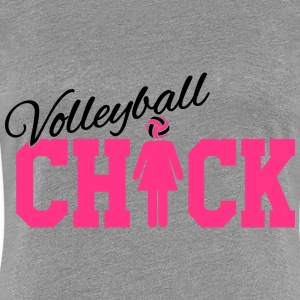 Volleyball Chick T-Shirts - Women's Premium T-Shirt