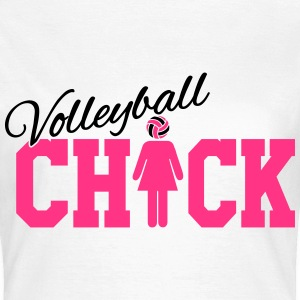 Volleyball Chick Camisetas - Camiseta mujer