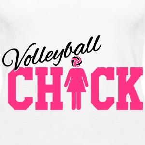 Volleyball Chick Topper - Premium singlet for kvinner