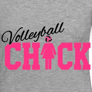 Volleyball Chick Manches longues - T-shirt manches longues Premium Femme