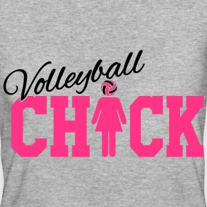 Volleyball Chick T-Shirts - Frauen Bio-T-Shirt