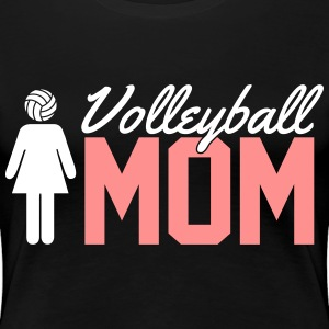 Volleyball Mom T-shirts - Vrouwen Premium T-shirt