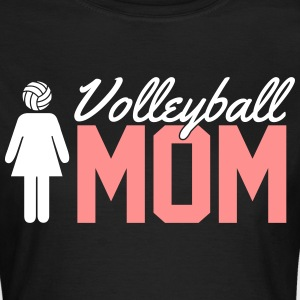 Volleyball Mom T-skjorter - T-skjorte for kvinner