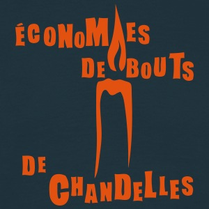 economies bout chandelles bougie express Tee shirts - T-shirt Homme