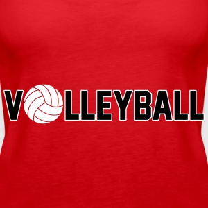 Volleyball Tops - Frauen Premium Tank Top