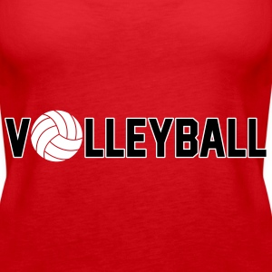 Volleyball Topper - Premium singlet for kvinner