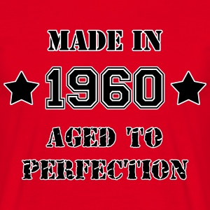 1960- Aged to perfection T-Shirts - Männer T-Shirt