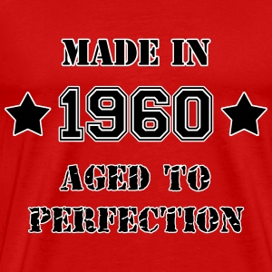 1960- Aged to perfection T-shirts - Mannen Premium T-shirt