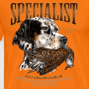 setter and woodcock 14 T-Shirts - Männer Premium T-Shirt
