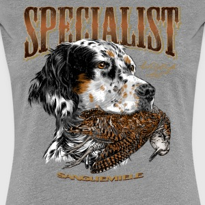setter and woodcock 14 T-Shirts - Women's Premium T-Shirt