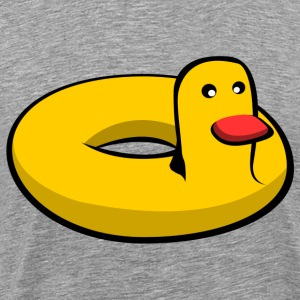 Swim ring duck T-skjorter - Premium T-skjorte for menn