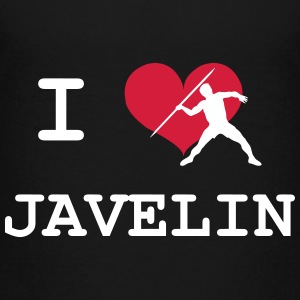 I Love Javelin T-shirts - Teenager premium T-shirt