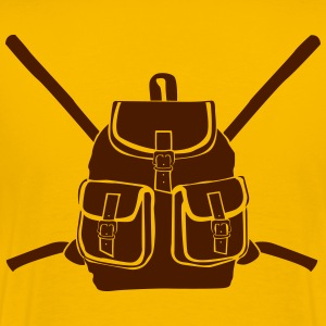 Backpack with buckles T-Shirts - Men's Premium T-Shirt