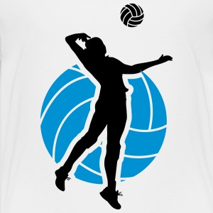 Volleyball Design T-Shirts - Teenager Premium T-Shirt