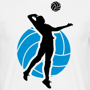 Volleyball Design Tee shirts - T-shirt Homme