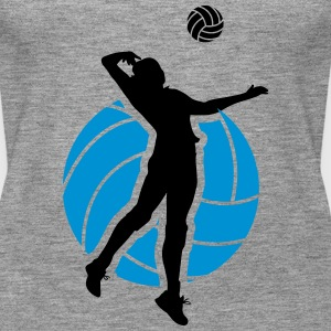 Volleyball Design Top - Canotta premium da donna