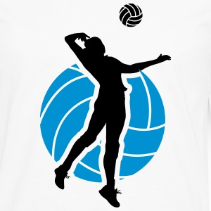 Volleyball Design Manches longues - T-shirt manches longues Premium Homme