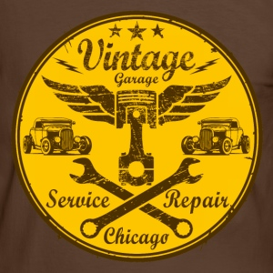vintage repair service 03 Tee shirts - T-shirt contraste Homme