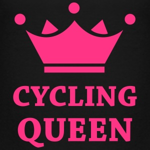 Cyclling Queen Shirts - Teenager Premium T-shirt