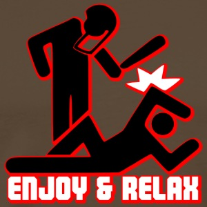 ENJOY AND RELAX T-Shirts - Männer Premium T-Shirt