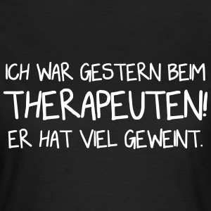 Therapeut - Lustig - Vector Design T-Shirts - Frauen T-Shirt