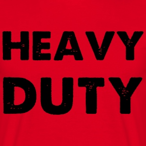 Heavy Duty T-shirts - T-shirt herr