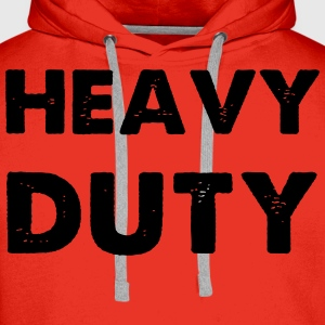 Heavy Duty Sweat-shirts - Sweat-shirt à capuche Premium pour hommes
