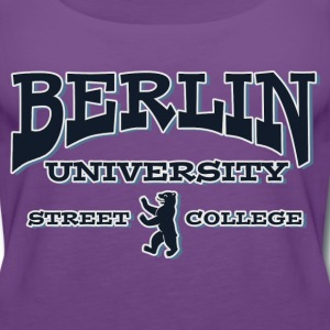 BERLIN UNIVERSITY STREET COLLEGE Tops - Frauen Premium Tank Top