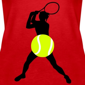 Tennis Tops - Premium singlet for kvinner