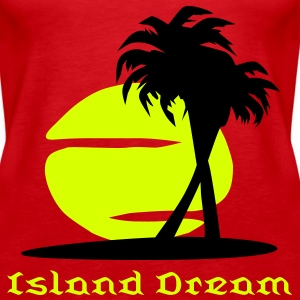 Island Dream Top - Tank top damski Premium