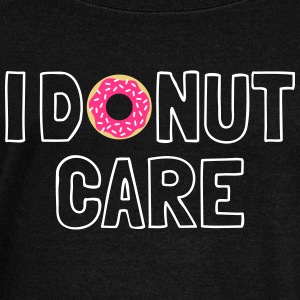 i donut care Hoodies & Sweatshirts - Women's Boat Neck Long Sleeve Top