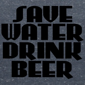 Save water, drink beer T-Shirts - Women's V-Neck T-Shirt