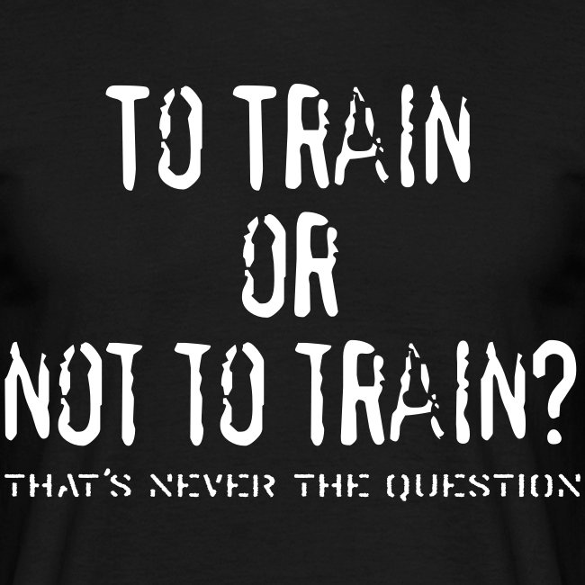To Train or not to train