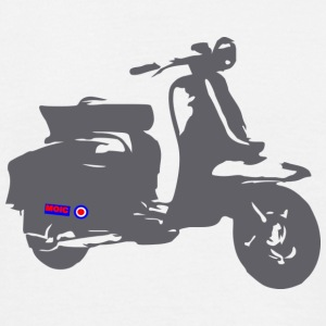 Retro Scooter - Men's T-Shirt