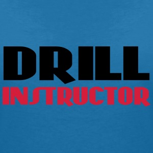 Drill Instructor Tee shirts - T-shirt col V Femme