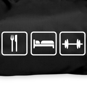 Eat Sleep Lift, Eat Sleep Gym, Eat Sleep Train Sacs et sacs à dos - Sac de sport
