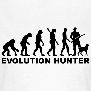Evolution Hunter T-Shirts - Frauen T-Shirt