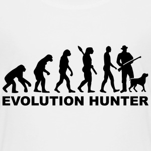 Evolution Hunter T-Shirts - Kinder Premium T-Shirt