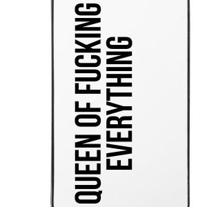 Queen of fucking everything Phone & Tablet Cases - iPhone 4/4s Hard Case