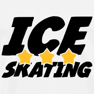 Ice Skating T-shirts - Herre premium T-shirt