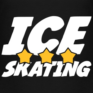 Ice Skating Skjorter - Premium T-skjorte for barn