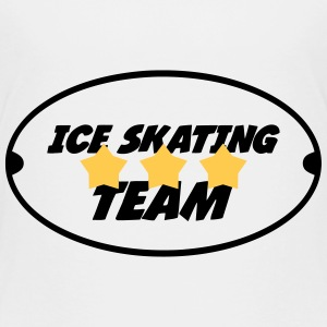 Ice Skating T-shirts - Børne premium T-shirt