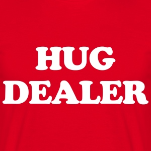 Hug Dealer  T-shirts - Herre-T-shirt
