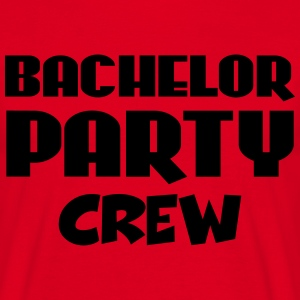 Bachelor Party Crew T-shirts - T-shirt herr