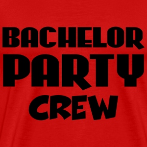 Bachelor Party Crew T-shirts - Herre premium T-shirt
