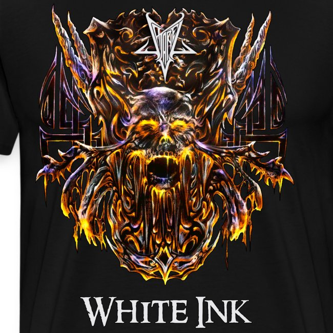 White Ink T-Shirt