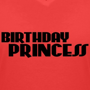 Birthday Princess T-Shirts - Women's V-Neck T-Shirt