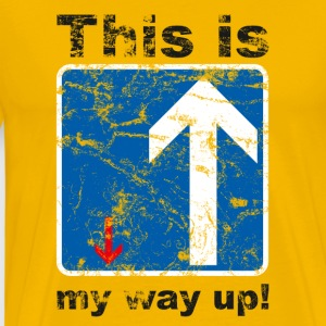 The way up - Männer Premium T-Shirt