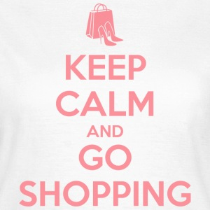 Keep Calm and Go Shopping T-Shirts - Women's T-Shirt